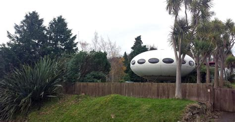 futuro house for sale rare ufo shaped futuro house is on the market for 290k curbed
