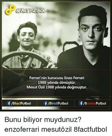 Enzo Ferrari 1988 by Funny Ozil Memes Of 2017 On Sizzle Arsenal