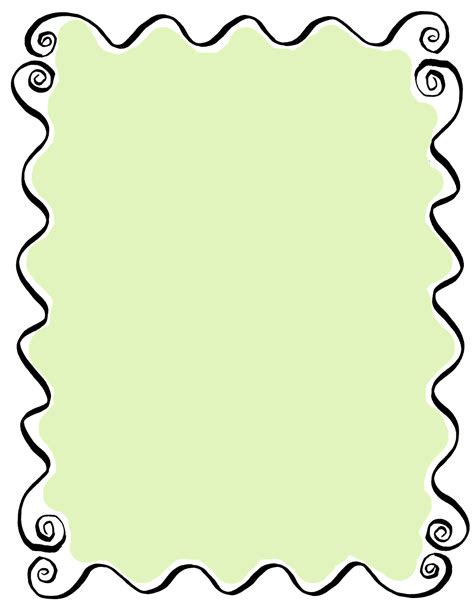 decorative drawing borders the graphics monarch