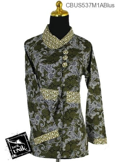 Blus Kembang Murah sarimbit blus motif kembang api mandau blus panjang murah batikunik