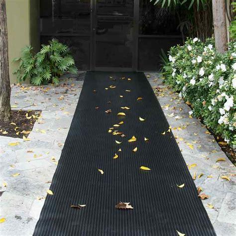 corrugated composite rib rubber runner mats  rubber