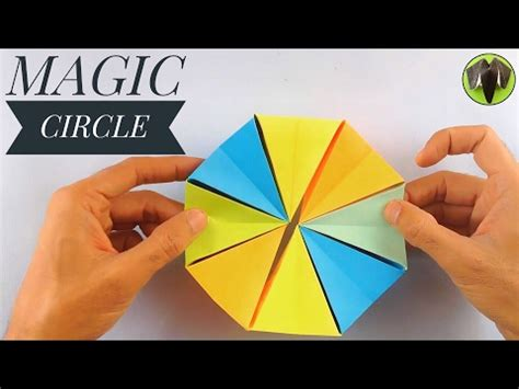 How To Make A Origami Magic Circle - hqdefault jpg