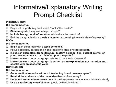 Writing An Explanatory Essay by Informative Explanatory Prompt Essay Based On A Quote Ppt