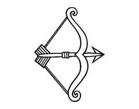 desenho flecha arco colorir colorir