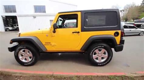 baja jeep wrangler 2015 jeep wrangler sport baja yellow fl636745