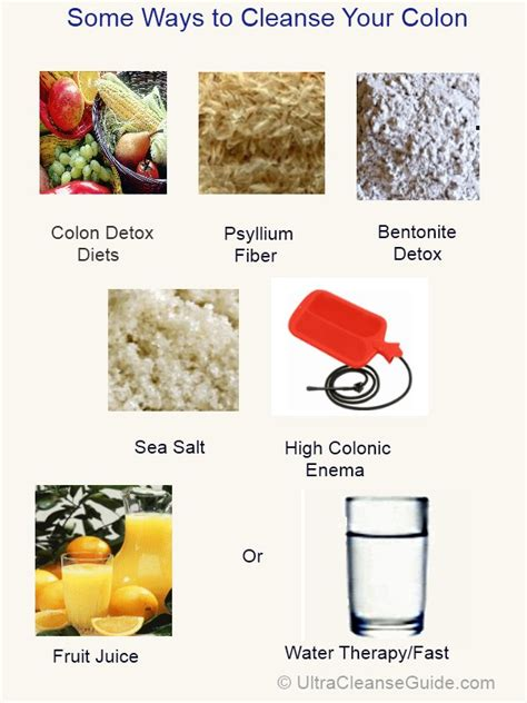 Diy Colon Cleanse Detox by Colon Cleanse Sea Salt