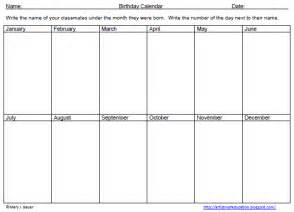weekend only calendar template artistry of education free birthday graphing activity