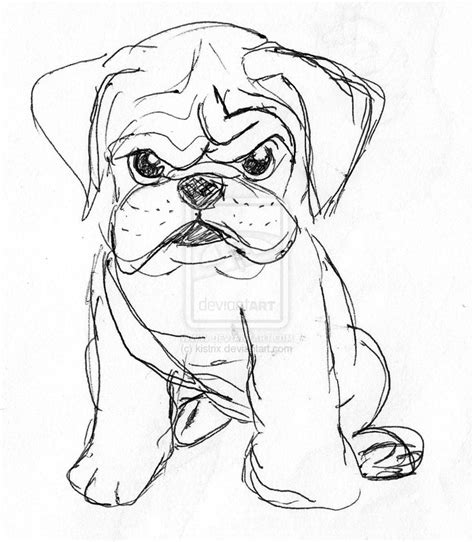 puppy sketch angry puppy sketch by kistrix on deviantart