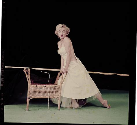 marilyn monroe the ballerina sitting 1954 3 color camera transparencies of marilyn monroe from quot ball