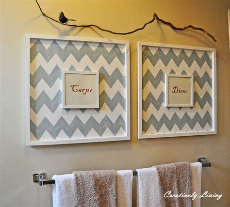 Bathroom Wall Art Ideas | bathroom wall art creatively living blog