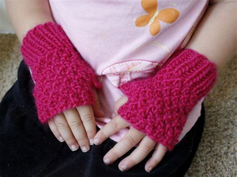 knitting pattern for childrens gloves children s knit patterns the knit cafe