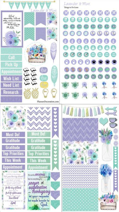 free printable planner cards 25 best ideas about printable planner stickers on