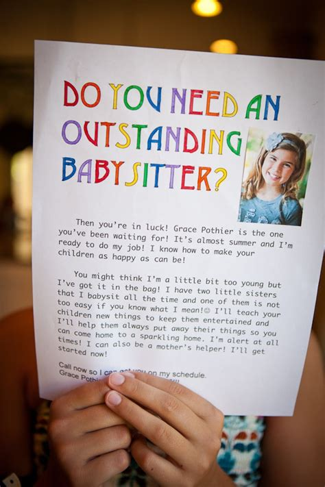 Babysitting Resume Samples by Best 25 Babysitting Flyers Ideas On Pinterest