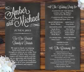 wedding program designs 7 pretty wedding program ideas aisle