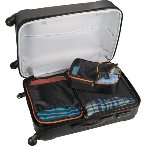 Set Of 3 Packing Cubes brighttravels set of 3 packing cubes everything branded usa