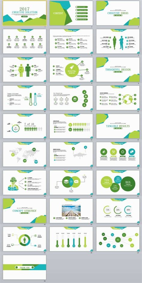 Creative Templates by 28 Creative Ideas Powerpoint Template Template
