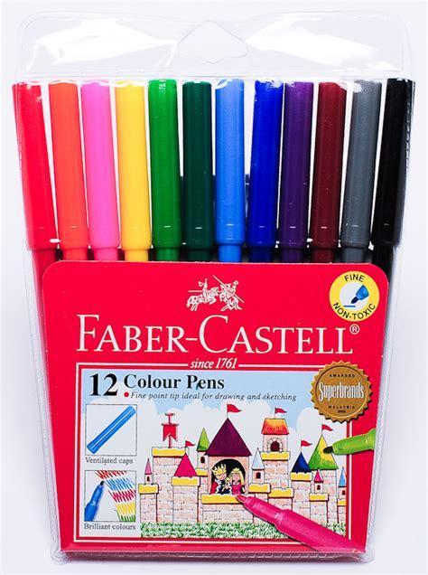 color marker pens faber castell color pens 12color set of 4 marker pens