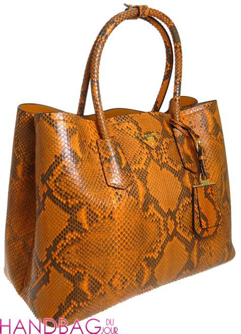 Prada Pitone Frame Satchel by Prada Pitone Bag At The Shops At Crystals Handbag