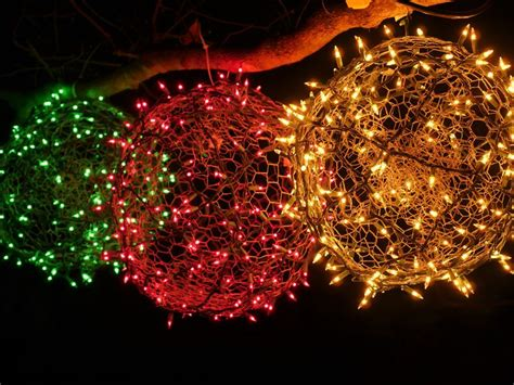 how to make christmas light balls how to make your own light balls cnet