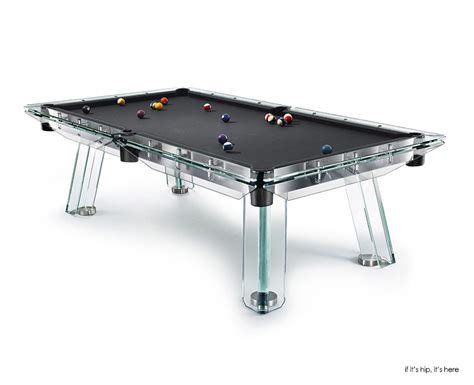 Pool Table And Ping Pong Table by Calma E Gesso Adds Elegance To Billiard And Ping Pong Tables If It S Hip It S Here