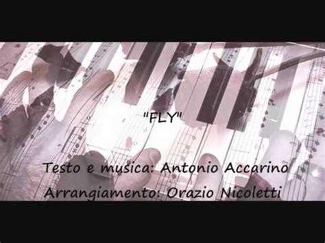 i fly with you testo fly testo e musica di antonio accarino