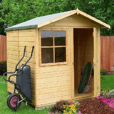 Shire Garden Sheds by Shire Abri Apex Garden Shed 7 X 7 1 98m X 2 05m Elbec