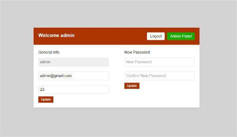 templates for website with login 7 free php login form templates to download free
