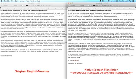 Translate Document From To