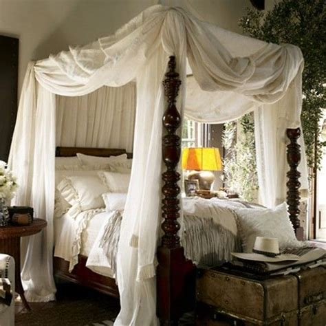 Vintage Canopy Bed Vintage Canopy Bed Bedroom Pinterest