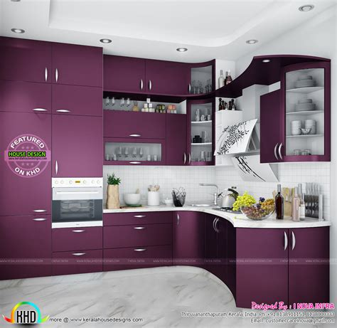 modular kitchen interiors modular kitchen kerala kerala home design and floor plans