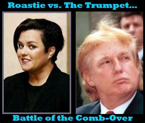 Donald Vs Rosie This Is Great by Rosie Vs Donald The Bad Hair Fight