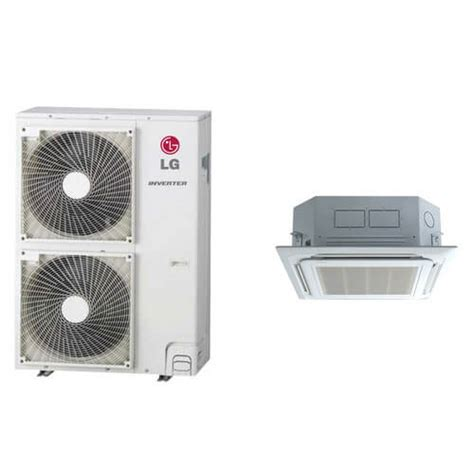 Ac Cassette Lg lc427hv lg lc427hv 42 000 btu ductless single zone air conditioner inverter ceiling cassette