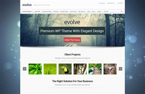Themes Wordpress Evolve | evolve multipurpose wordpress theme wpthemes4free com