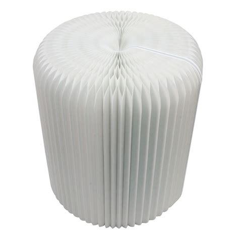 Sofa Lipat folding paper sofa outdoor furniture kursi kertas lipat white jakartanotebook