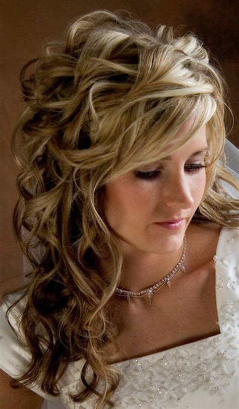 hairstyles semi curls 30 wedding hairstyles and what you need to achieve them