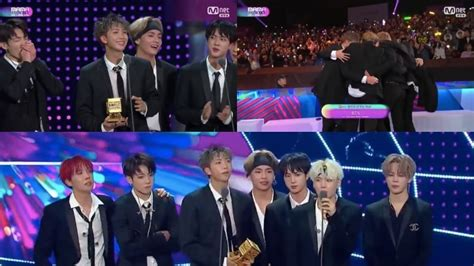 bts mama bts takes home artist of the year award for 2nd year in a