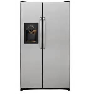 home depot side by side refrigerator 25 3 cu ft side by side refrigerator in stainless steel
