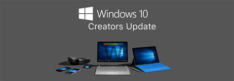 Windows 10 Creators Update now available via Update
