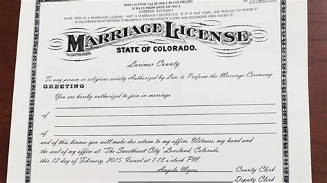 El Paso County Marriage License Records Related Keywords Suggestions For Marriage License 2015