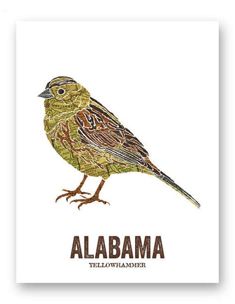 yellowhammer alabama state bird from woodenpencilco on
