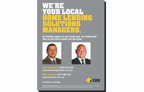 home loans and lending solutions from bank of america commonwealth bank of australia home lending solutions