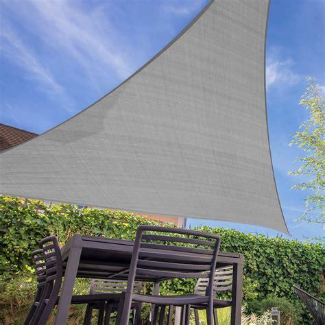 shade cloth awning sun shade sail cloth canopy outdoor shadecloth awning triangle 280g m ebay