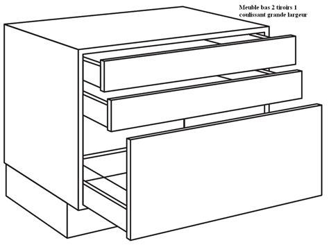 meuble cuisine tiroir coulissant with meuble cuisine