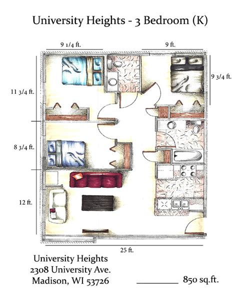 3 bedroom apartments madison wi efficiency 1 2 3 u0026 4 bedroom 3 bedroom apartments madison university heights rentals madison wi apartments com