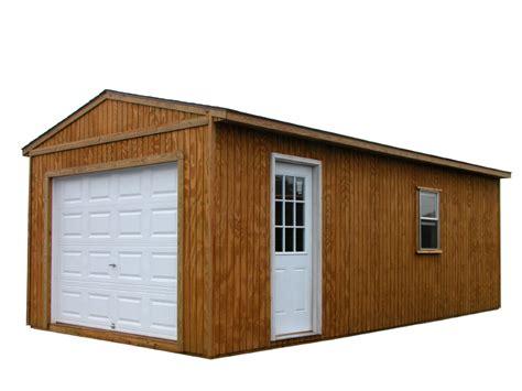 Construire Garage En Bois by Construire Un Garage En Bois