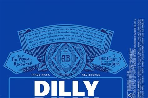 dilli dilli bud light bud light bringing dilly dilly caign to labels
