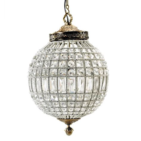 Chandelier Size Globe Chandelier In Two Sizes By Out There Interiors Notonthehighstreet