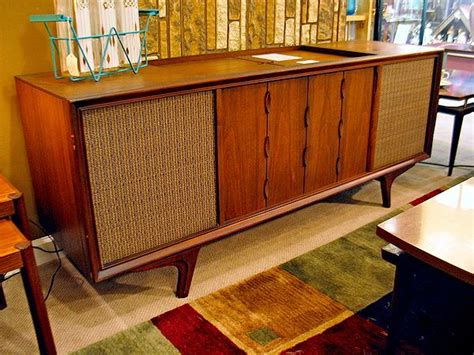 vintage tv stereo cabinet vintage stereo console my obsession pinterest