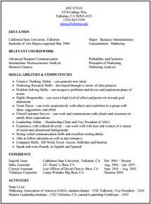 Job Interview Resume Format by Resume Preparation Tips Formats And Types For Job Interview