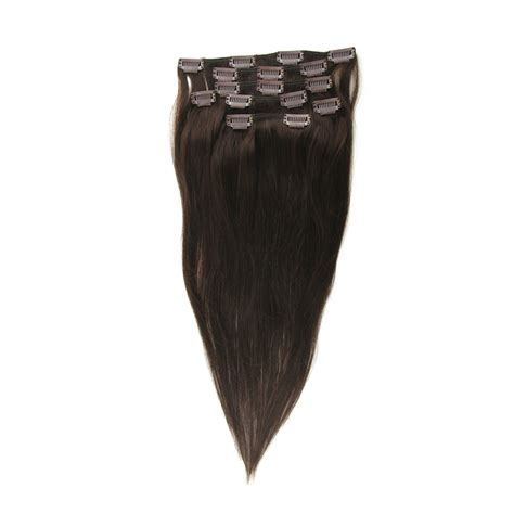 indian remy human hair clip in extensions indian remy brown clip in hair 100 human hair